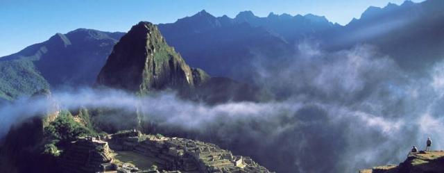 Machupicchu of Peru