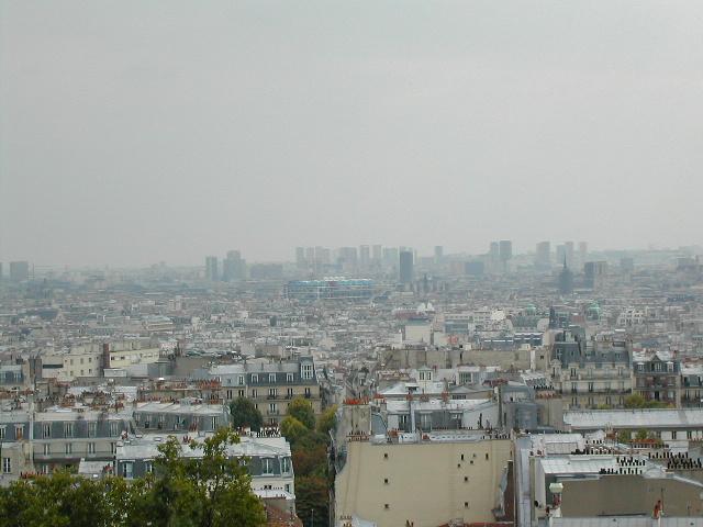 A view from Montmarte(sacre-coeur, Paris)2