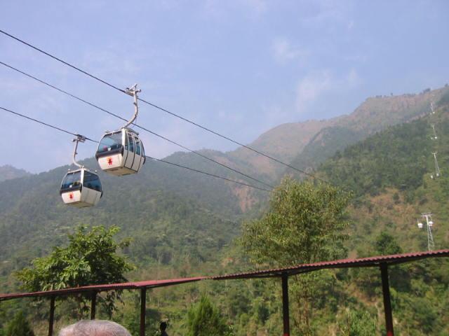 Cable car, Manakamana, Nepal