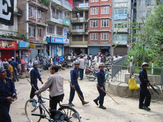 Kathmandu Bandh!!