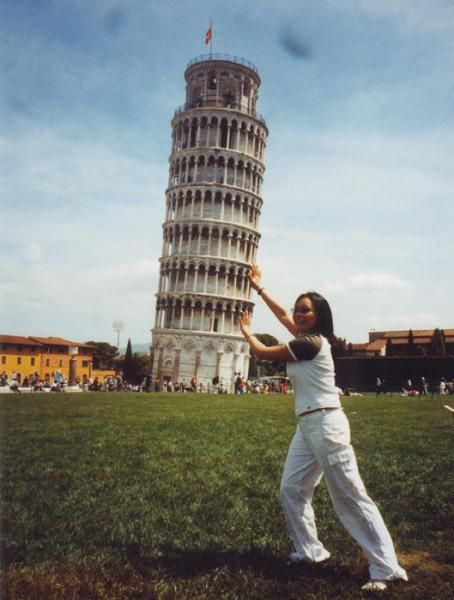 The leaning tower PISA