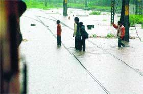 Mumbai under water