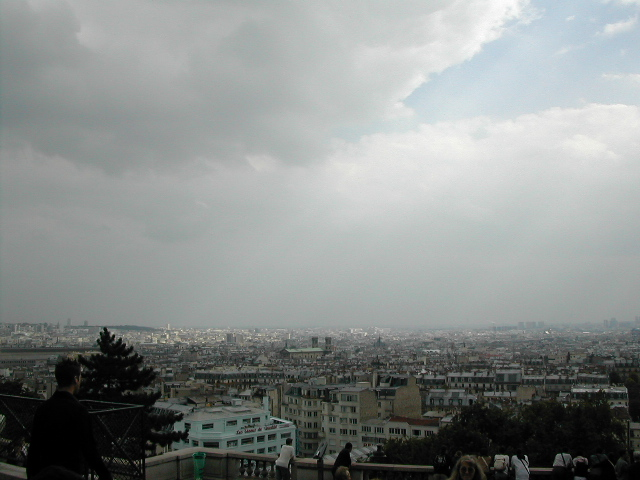 A view from Montmarte(sacre-coeur, Paris)3