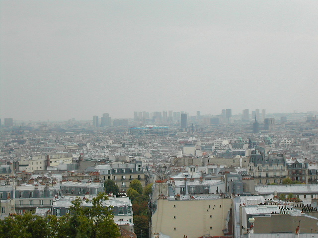 A view from Montmarte(sacre-coeur, Paris)2