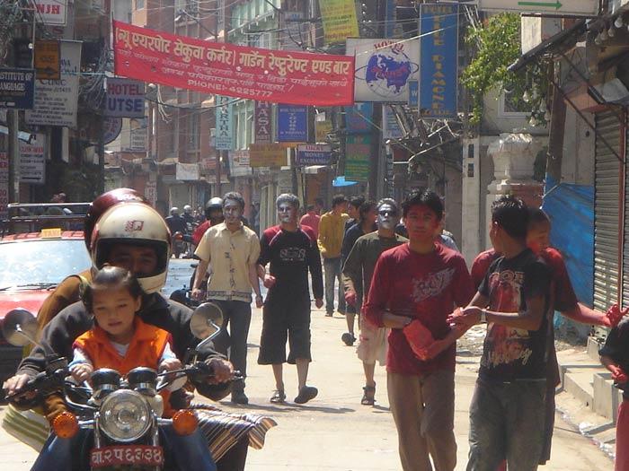 Colorful Day in Kathmandu